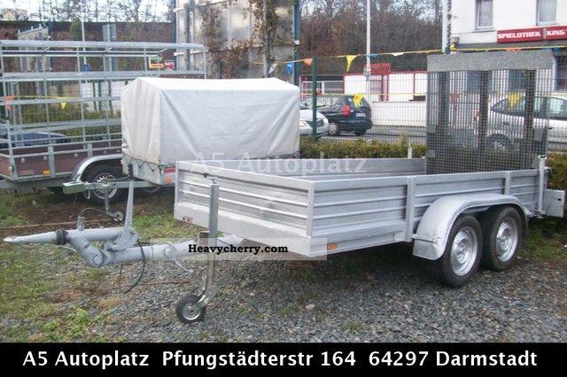 1992 Auwarter  Auwärter 2-meter platform Aufahramppe ----------- --------- Trailer Stake body photo