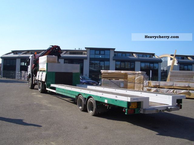 2008 Auwarter  Auwärter XSW 180 Semi-trailer Low loader photo