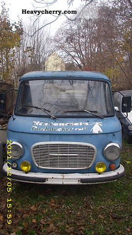 1978 Barkas  B1000 Van or truck up to 7.5t Stake body photo