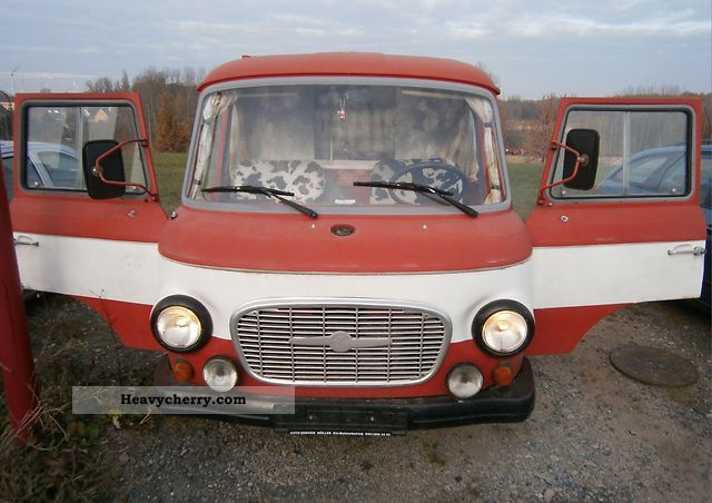 1975 Barkas  KLF Van or truck up to 7.5t Box-type delivery van photo