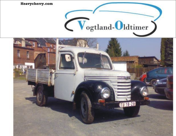 1960 Barkas  Framo901 / 2 Van or truck up to 7.5t Stake body photo