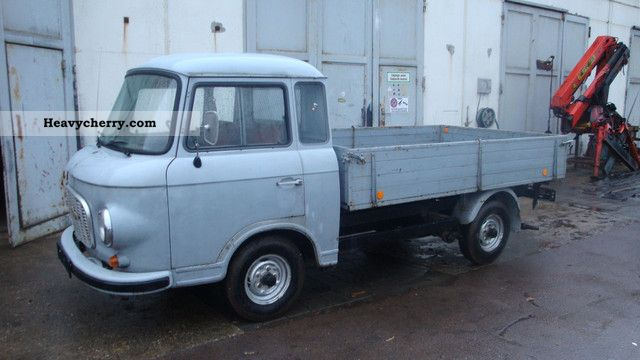 1974 Barkas  B 1000 Van or truck up to 7.5t Stake body photo