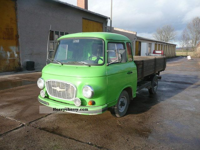 1990 Barkas  B1000-1 HP (4 stroke engine VW) Van or truck up to 7.5t Stake body photo
