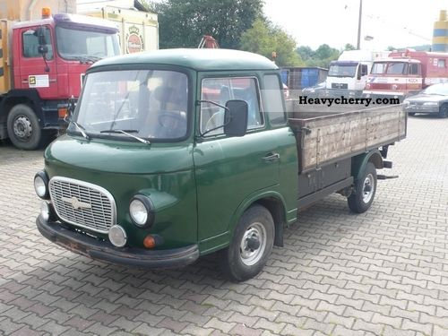 1972 Barkas  B1000 HP / FR Platform Van or truck up to 7.5t Stake body photo