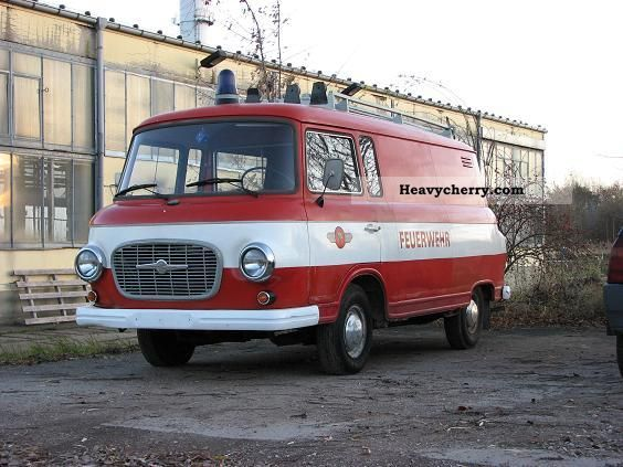 1969 Barkas  B 1000 CPF Van or truck up to 7.5t Box-type delivery van photo