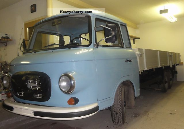 1968 Barkas  HP B 1000/3- Van or truck up to 7.5t Stake body photo