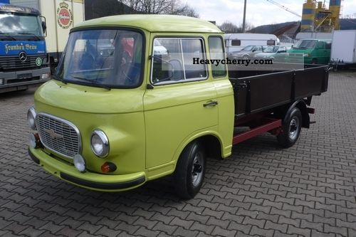 1985 Barkas  B1000 HP Flatbed / rebuilt / APC Van or truck up to 7.5t Stake body photo