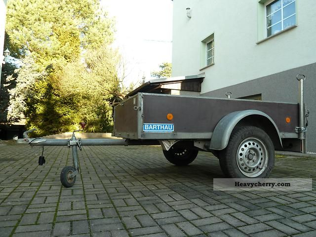 1999 Barthau  SDAH open box Trailer Trailer photo