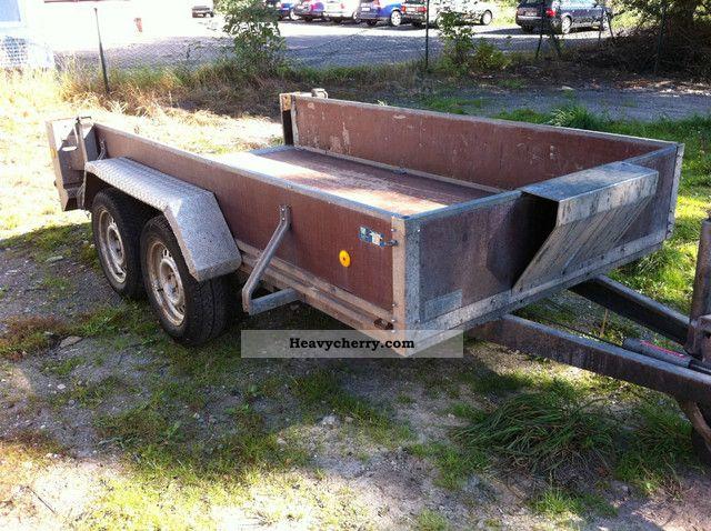 2003 Barthau  Mini Excavators 2.7 to trailers with ramps Trailer Trailer photo