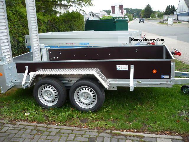 2011 Barthau  GTB 2702 Trailer Low loader photo
