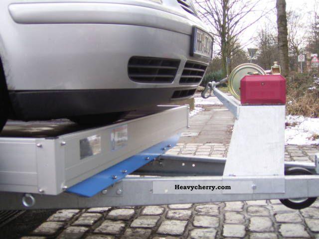 Barthau Qm1801 Aluminum 1achser Universal Trailer Incl