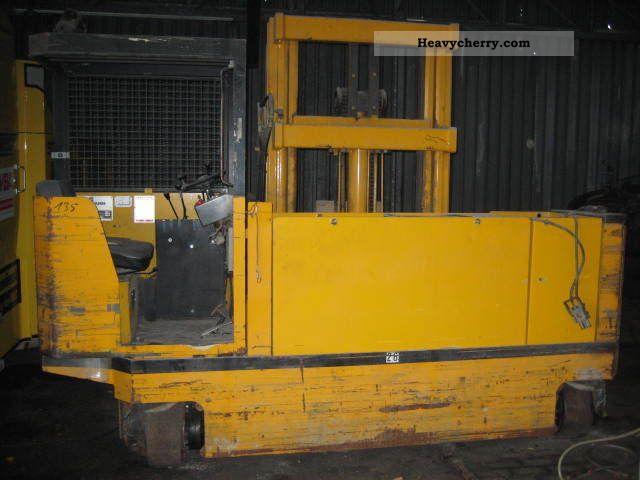 1995 Baumann  EVS 50/16. / 33 ST LK Forklift truck Side-loading forklift truck photo