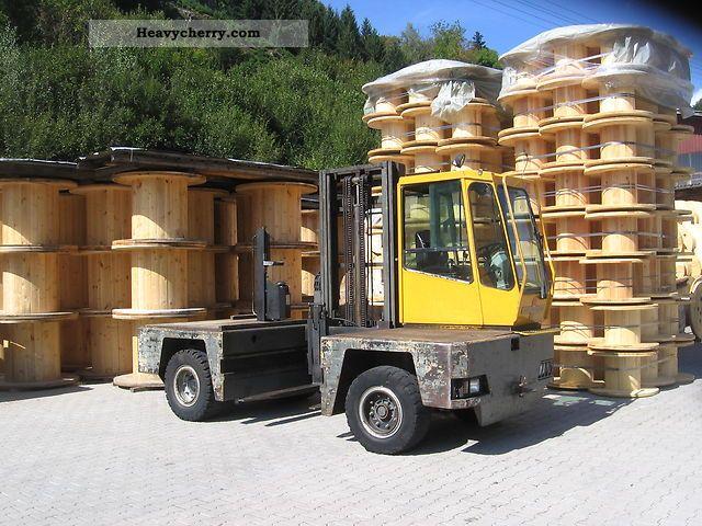 1995 Baumann  DX 40 12 40 Forkpositioner Forklift truck Side-loading forklift truck photo