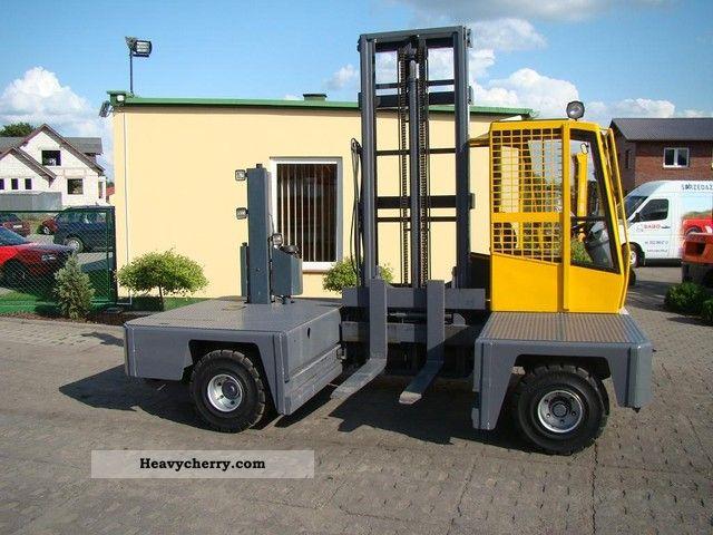 1995 Baumann  HX 40/12/45 Forklift truck Side-loading forklift truck photo