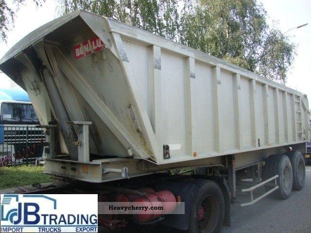 1993 Benalu  tipper Semi-trailer Tipper photo