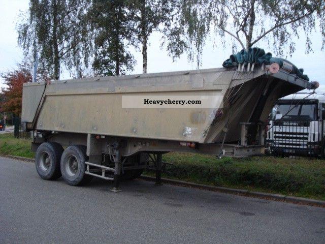 1995 Benalu  original Semi-trailer Tipper photo