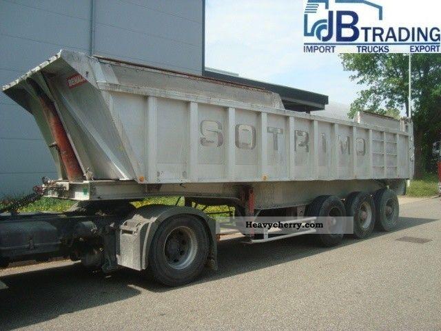 1990 Benalu  original Semi-trailer Tipper photo