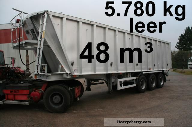 2003 Benalu  48m ³ Hinterkippauflieger Semi-trailer Tipper photo