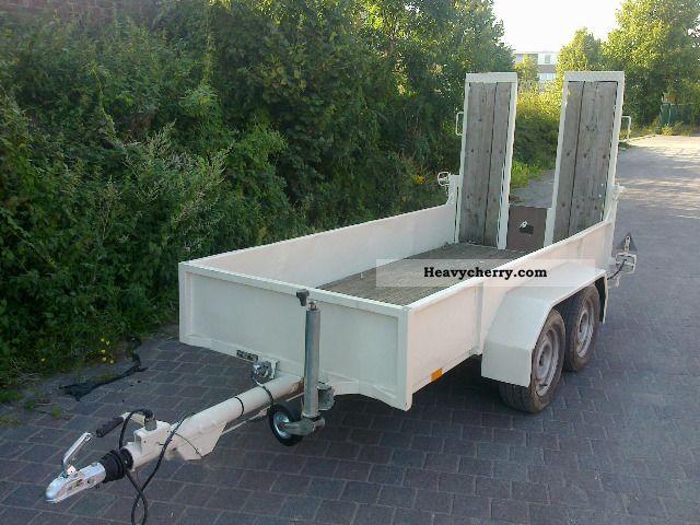 1990 Blomenrohr  Blomenröhr low loader mini excavator with TUV transport 2T NEW Trailer Low loader photo