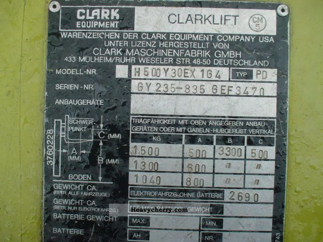 clark equipment gmbh