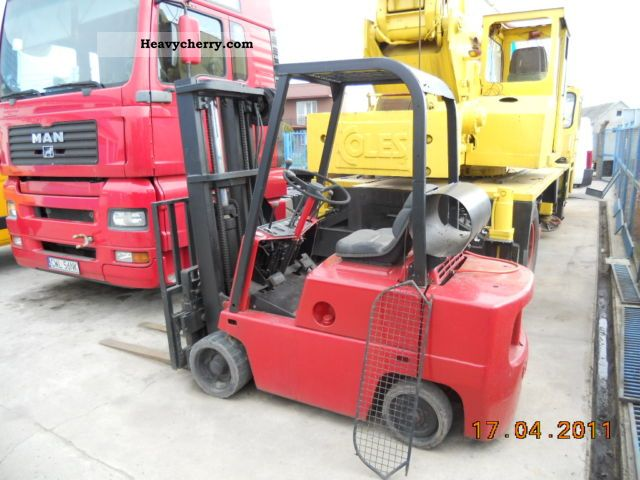 1991 Clark  C500-50 Forklift truck Other forklift trucks photo