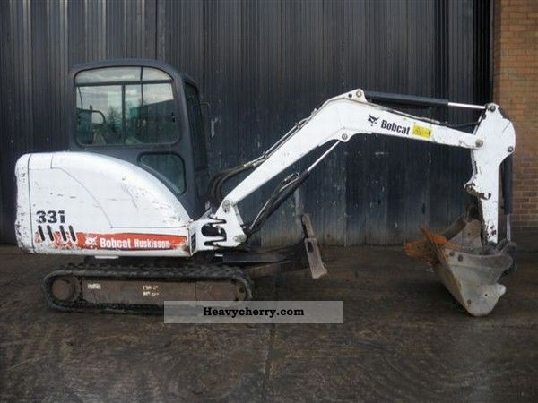 2011 Bobcat  330 Construction machine Combined Dredger Loader photo