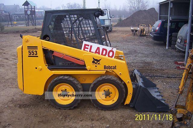 1998 Bobcat  553 Construction machine Construction Equipment photo