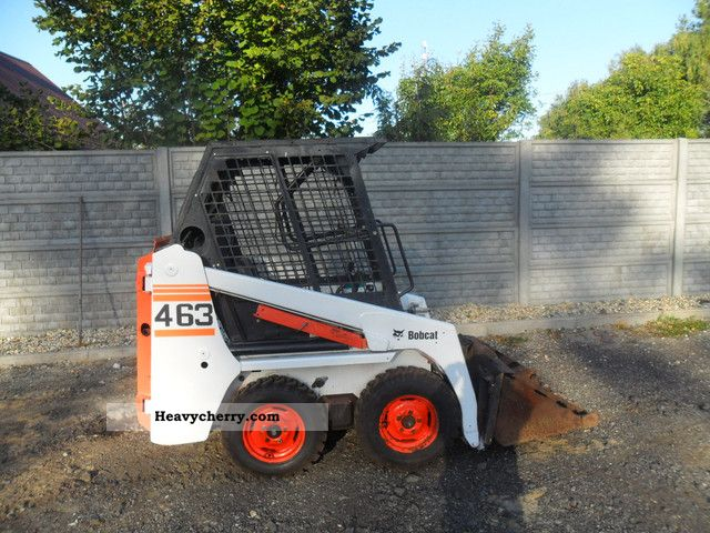 2007 Bobcat  463 Construction machine Wheeled loader photo