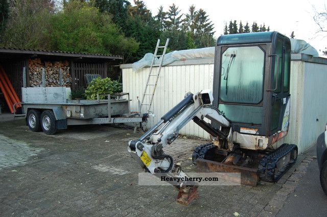 2001 Bobcat  322 Mini Excavator Construction machine Mini/Kompact-digger photo