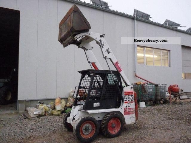 2003 Bobcat  553 Construction machine Wheeled loader photo