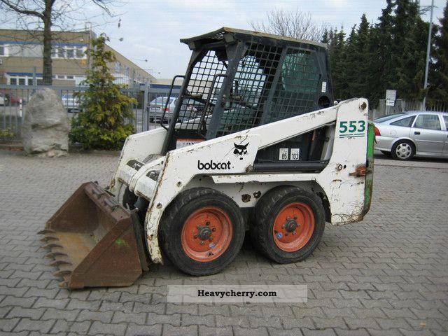 1999 Bobcat  553 Construction machine Wheeled loader photo