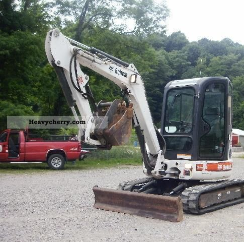 2005 Bobcat  430HAG Construction machine Mini/Kompact-digger photo