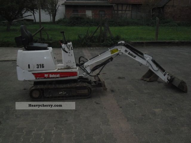2006 Bobcat  316 Construction machine Mini/Kompact-digger photo