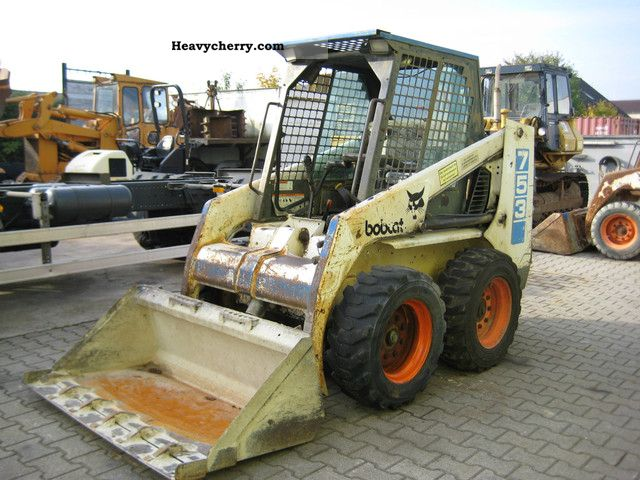 Bobcat 753 1992 Wheeled Loader Construction Equipment Photo And Specs