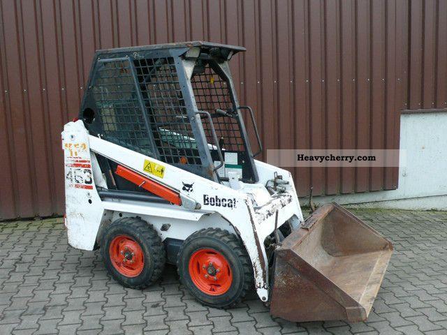 2005 Bobcat  463 Construction machine Mini/Kompact-digger photo
