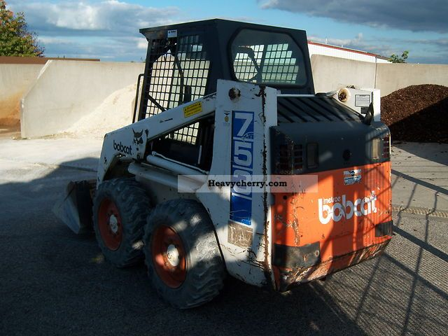 Bobcat 753 1994 Minikompact Digger Construction Equipment Photo And