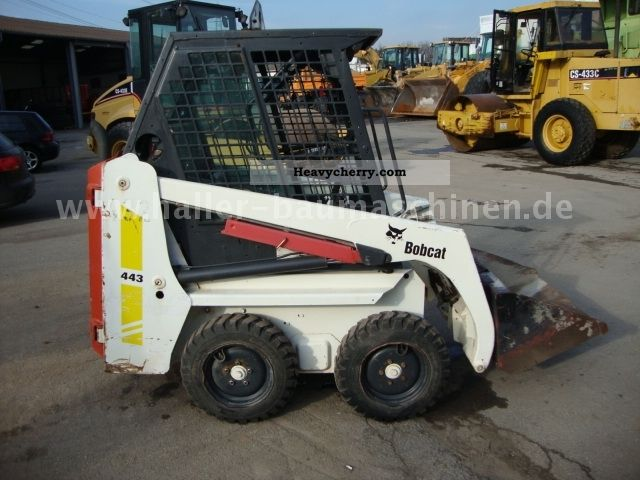 2000 Bobcat  453 Construction machine Mini/Kompact-digger photo