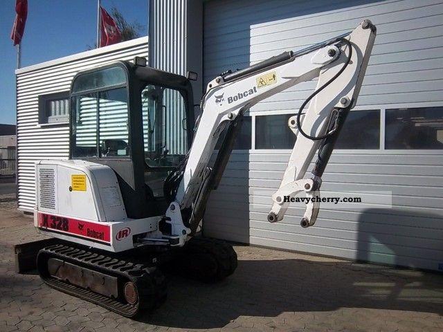 1998 Bobcat  X 328 - mini excavator Construction machine Mini/Kompact-digger photo