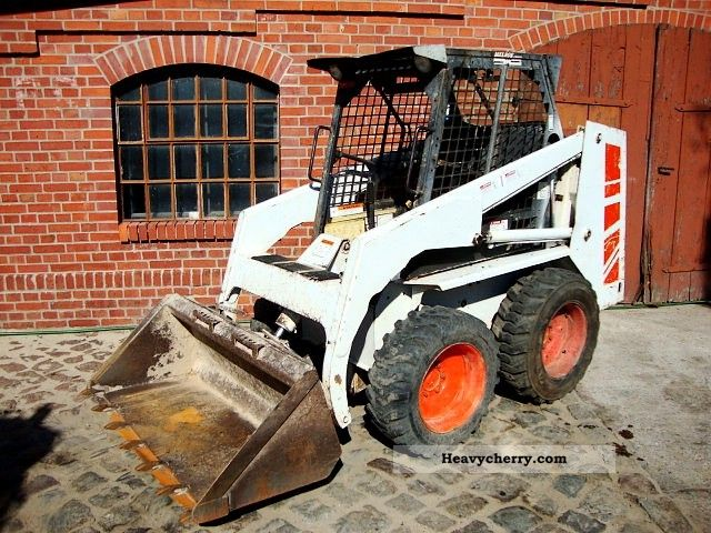 1989 Bobcat  643 skid steer loaders 0.5 m³ to 1.8. orig. 821H Construction machine Mini/Kompact-digger photo