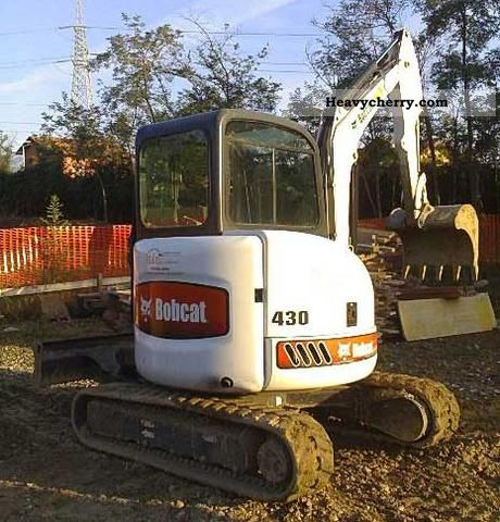 2011 Bobcat  430 Construction machine Mini/Kompact-digger photo