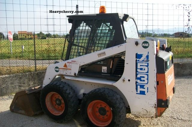 Bobcat 753h 1996 Drill Machine Construction Equipment Photo And Specs