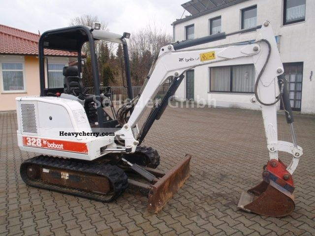 2000 Bobcat  328 D Construction machine Mini/Kompact-digger photo