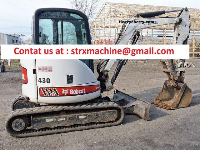 2004 Bobcat  430 Construction machine Mini/Kompact-digger photo