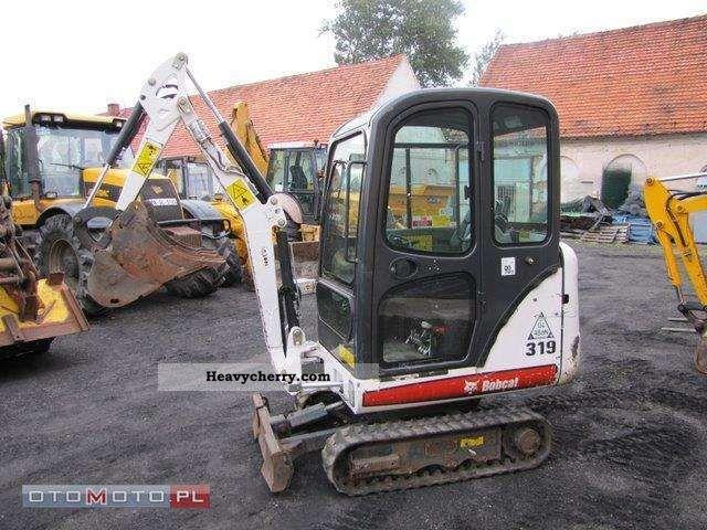 2009 Bobcat  319 Construction machine Mini/Kompact-digger photo