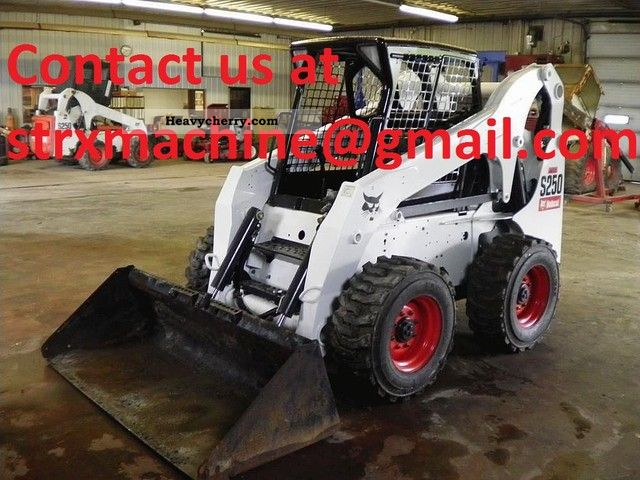 Bobcat S250 2007 Wheeled loader Construction Equipment Photo and Specs