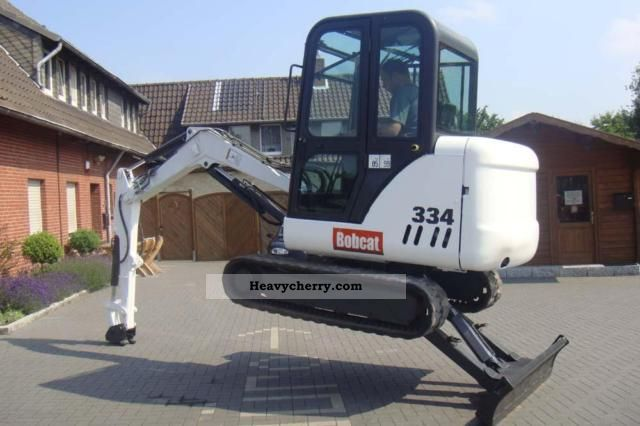 2002 Bobcat  334 Construction machine Mini/Kompact-digger photo