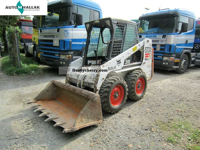 2005 Bobcat  S 130 skid loader auxiliary hydraulic Construction machine Mini/Kompact-digger photo