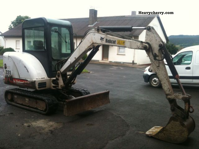 2002 Bobcat  331 MINI EXCAVATOR ** ** 3.2 t Construction machine Mini/Kompact-digger photo