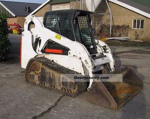 2001 Bobcat  T190 / heating / front door Construction machine Mini/Kompact-digger photo