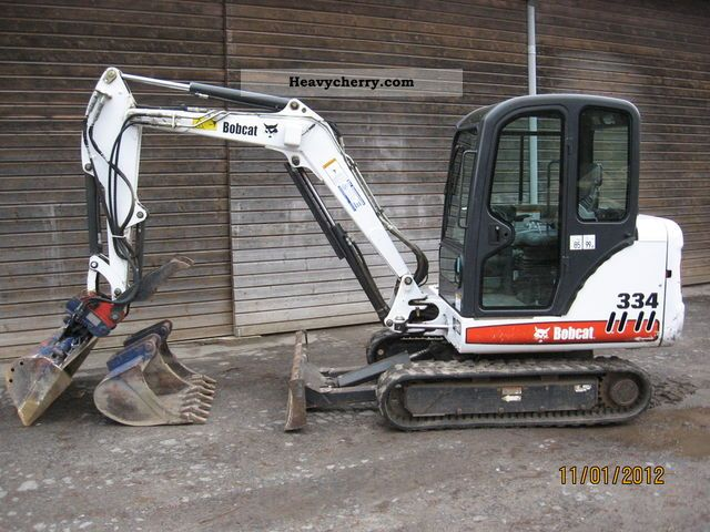 2004 Bobcat  334 G - Mini Excavator 3.5 ton Construction machine Mini/Kompact-digger photo